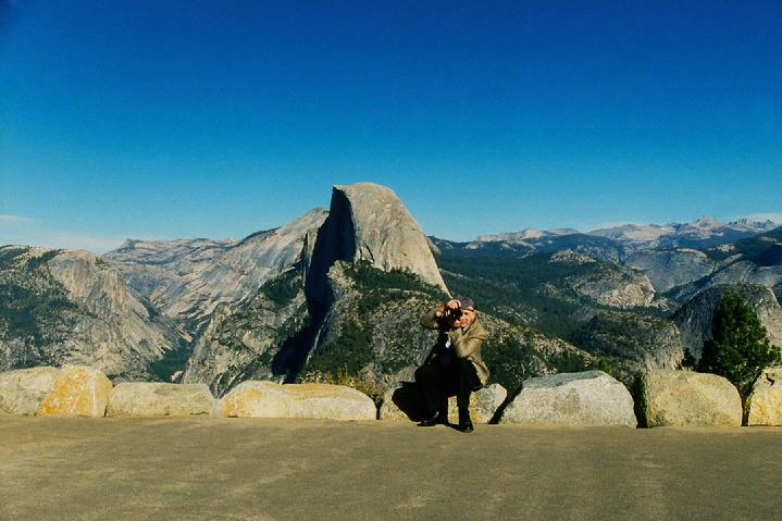 Yosemite Glacier Point, Yosemite National Park, California:  Original Photograph by Marie Haeffner-Reeves